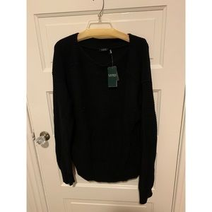 New with tags! Ralph Lauren cotton knit sweater